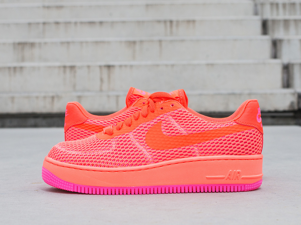 sports shoes e3942 123d2 ... Buty damskie sneakersy Nike Air Force1 Low Upstep Breeze 833123 800 ...