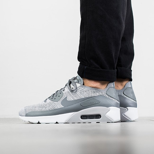 ... Pánské boty sneakers Nike Air Max 90 Ultra 2.0 Flyknit 875943 003 ... 27f641ad863