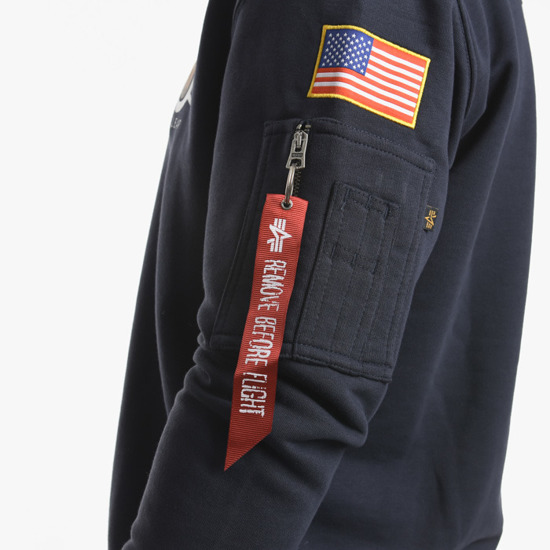 Alpha Industries Apollo Moon Landing 50 Patch Sweater 198363 07