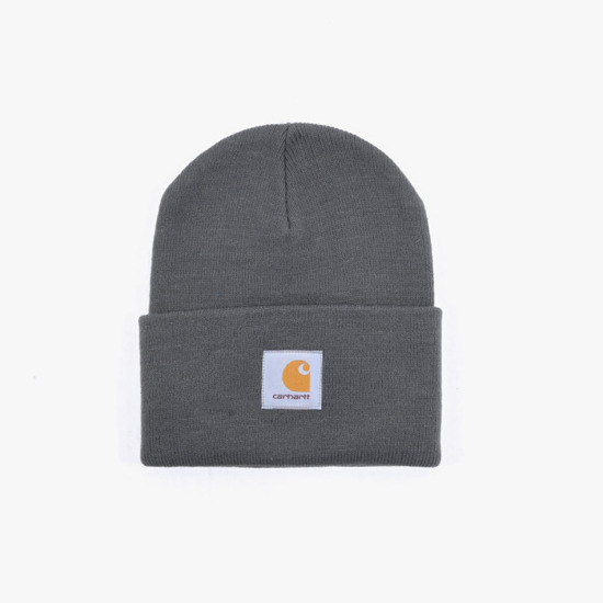 Carhartt Acrylic Watch Hat I020222 BLACKSMITH