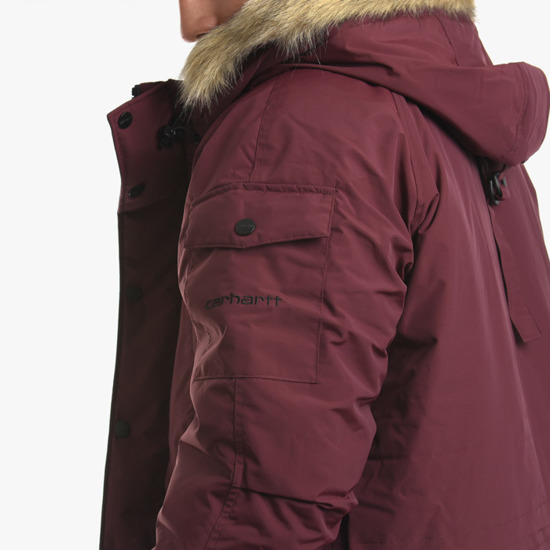 Carhartt WIP Anchorage Parka I027126 MERLOT/BLACK