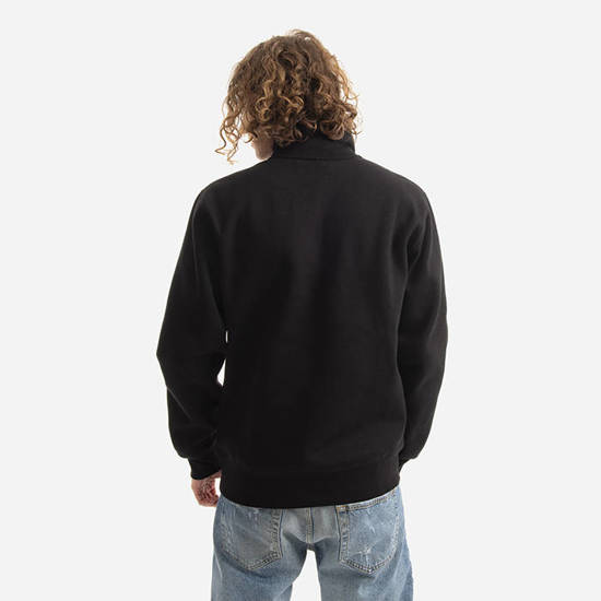 Carhartt WIP Chase Neck Zip I027038 BLACK/GOLD