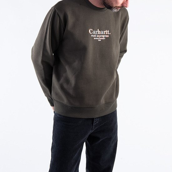 Carhartt WIP Commission Sweatshirt I028390 CYPRESS