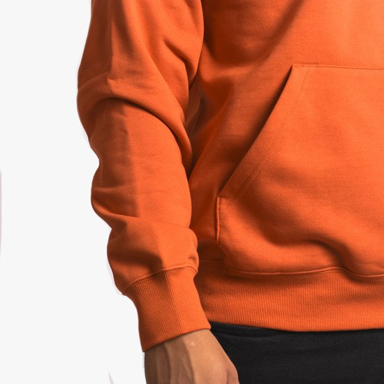 Carhartt WIP Hooded I027093 BRICK ORANGE/BLACK