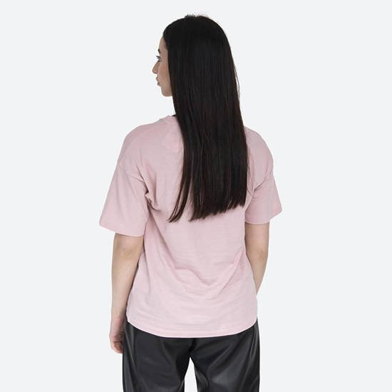 Carhartt WIP W' S/S Script T-Shirt I028442 FROSTED PINK/BLACK