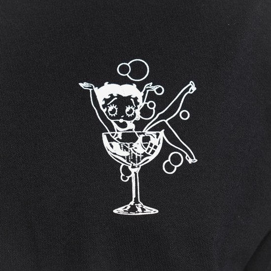 HUF Martini Betty Boop TS01135 BLACK
