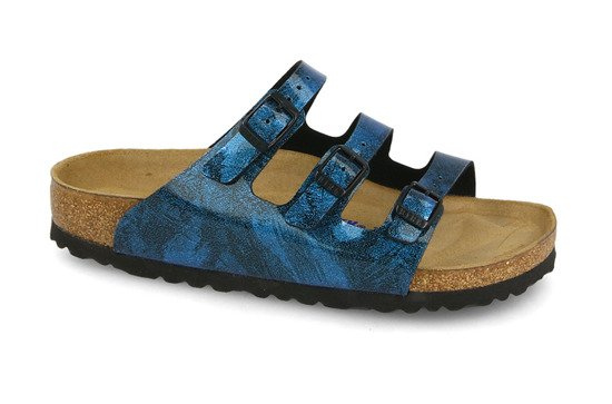 Pantofle Birkenstock Florida Fresh Strong Blue 1011181