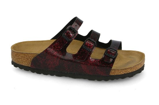 Pantofle Birkenstock Florida Fresh Strong Red 1011179