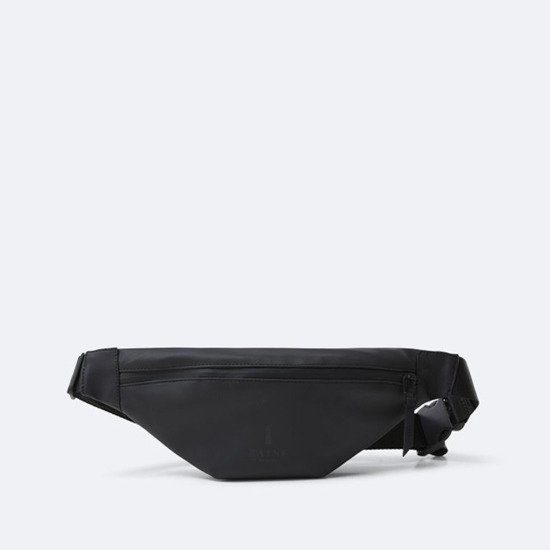 Rains Bum Bag Mini 1313 BLACK