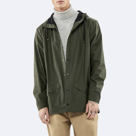Rains Jacket 1201 GREEN