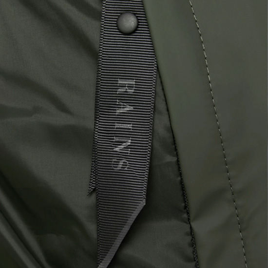 Rains Long Puffer Jacket 1507 GREEN