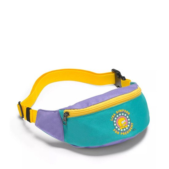 Vans x The Simpsons Lisa Fanny Pack VN0A4V4E17G