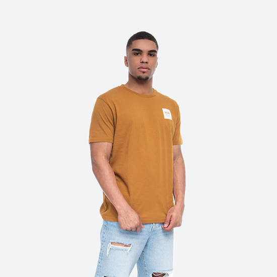 Wood Wood Box T-shirt 11935724-2334 Mustard