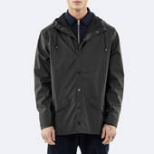 Rains Jacket 1201 BLACK