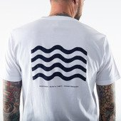 Wood Wood Wave T-shirt 12035712-2334 BRIGHT WHITE