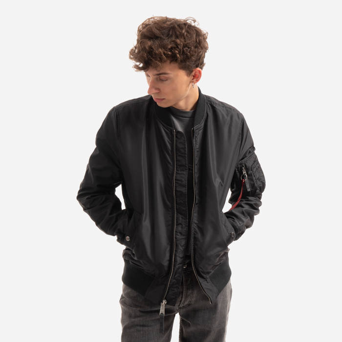 "Boty - Alpha Industries | CZARNY/SZARY | L - Alpha Industries MA-1 TT ""Black"" 191103 03"